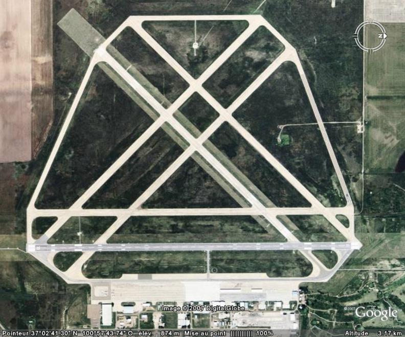 Aéroport, Libéral, Kansas, USA Aeropo12