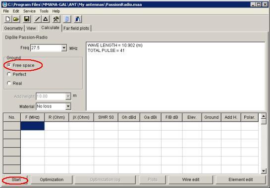 MMANA : Vues du logiciel Mmana_14