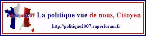 Politique 2007