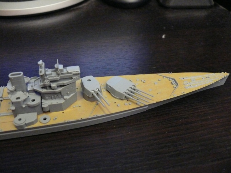 [Tamiya] HMS PRINCE of WALES 1/700 P1000312