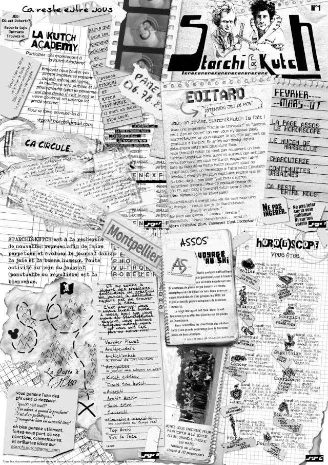 L 39 archifauxrhum journal tudiant de l 39 cole d 39 archi de montpellier - Journal de montpellier ...