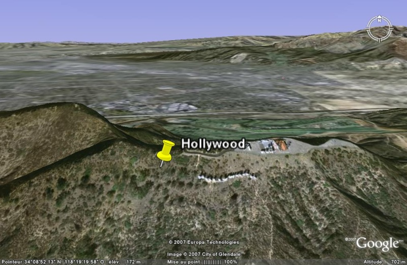 "Le panneau ""Hollywood"", Los Angeles - USA Hollyw10"