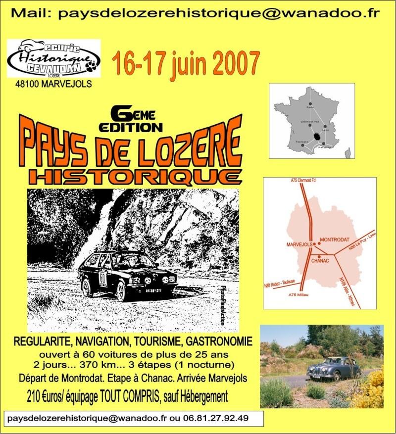 Pays de Lozere Historique 2007 Affich11