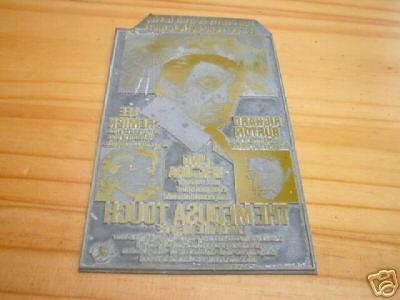 Plaques d'imprimerie Plaque10