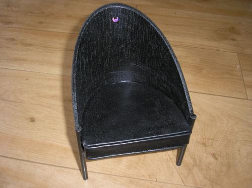 fauteuil costes philippe starck pour msd ou barbie. Black Bedroom Furniture Sets. Home Design Ideas