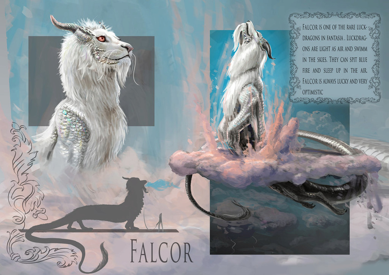 The Neverending Story - Falkor