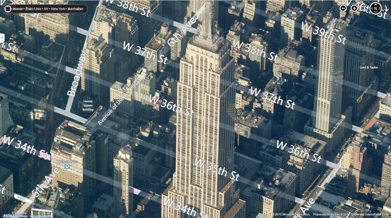 Google Maps Empire State Building Tour