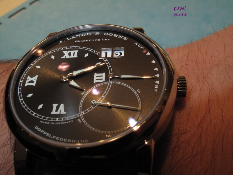 A.Lange & Sohne - [SIHH] Another pics of the novelties, realesed ...