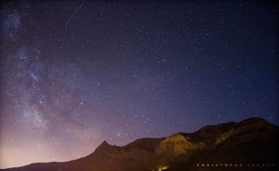 La Voie lactée dans le ciel champsaurin