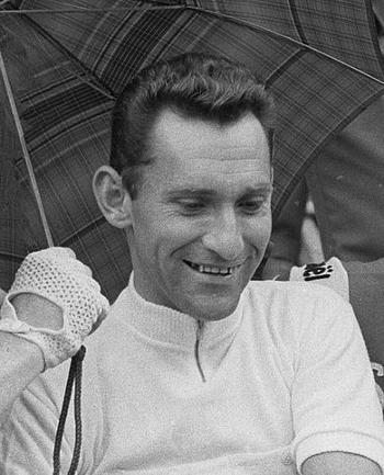 Portrait photographique de Jean Stablinski, pris en 1963
