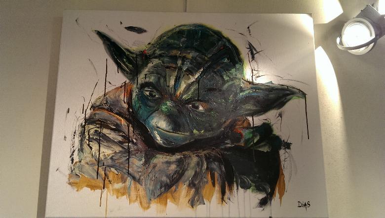 Peinture Chambre Star Wars : Exposition philippe dias besançon