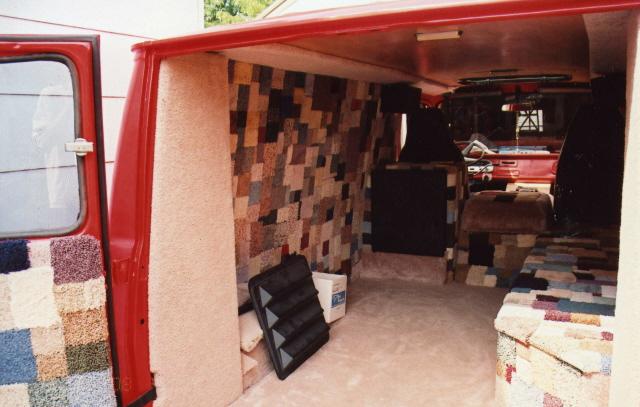 Van interior for Van interior designs