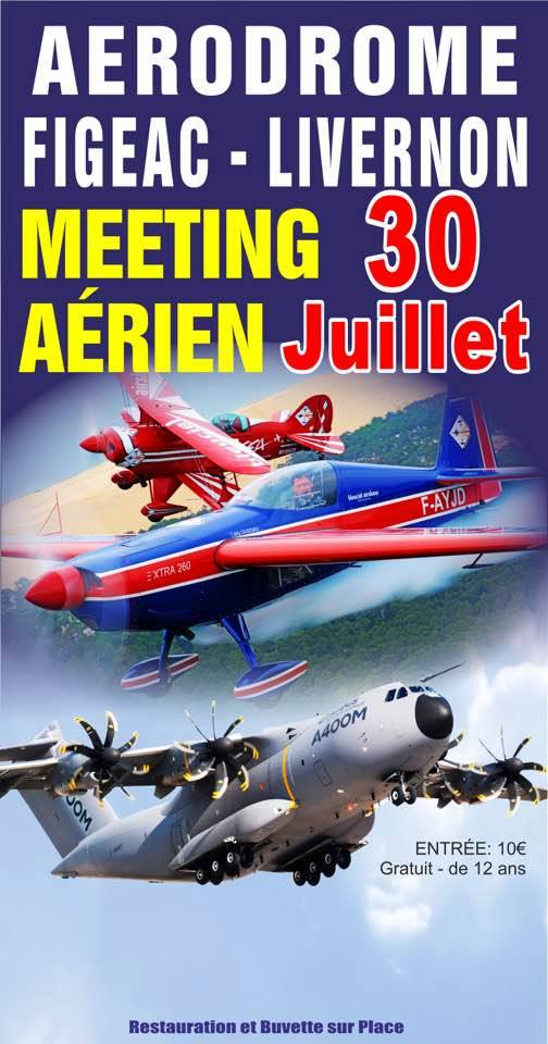Meeting Aerien Figeac Livernon 2017, French Airshow 2017