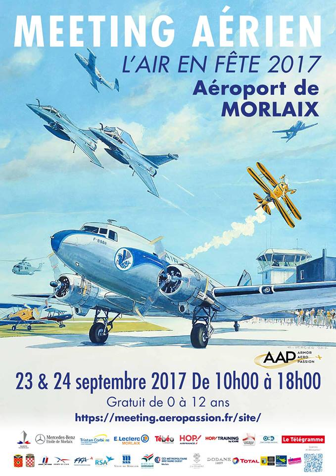 Meeting Aerien Morlaix 2017 , Meeting Aerien 2017, Airshow 2017, French Airshow 2017