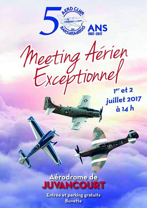 Meeting Aerien Juvancourt 2017 , sud ouest fete aeriennes, Meeting Aerien des 50 ans Aéroclub , Meeting Aerien 2017, French Airshow 2017