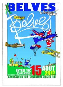 manifestation aerienne belves 2017, Aéroclub Belvès Périgord , Meeting Aerien 2017