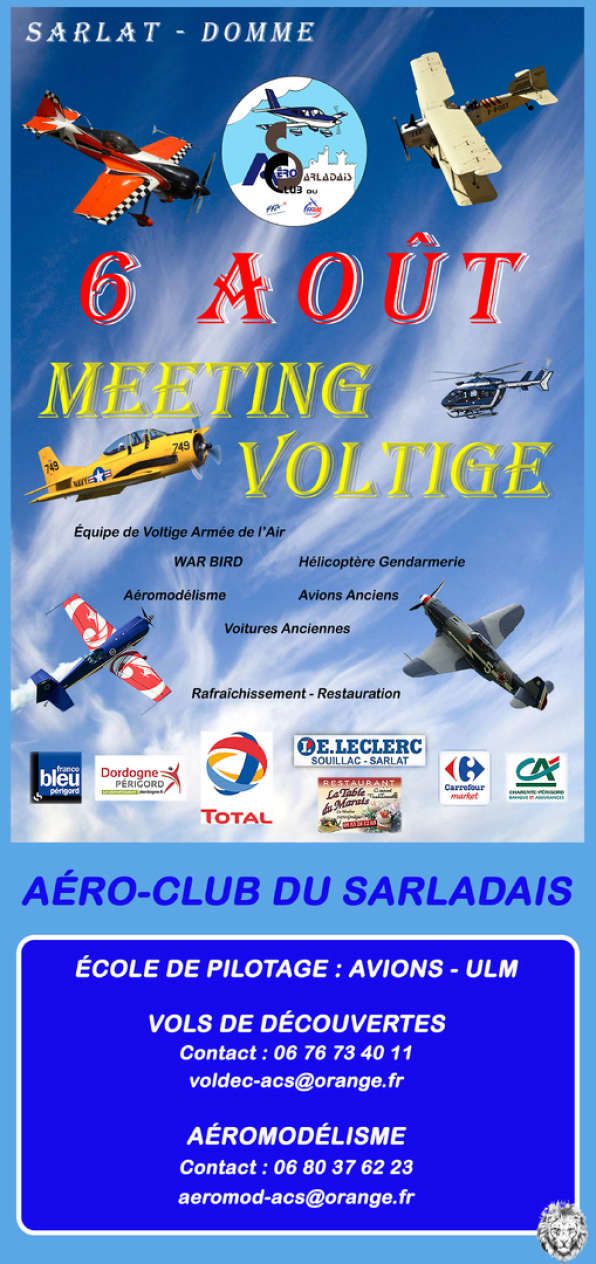Show Aerien Sarlat - Domme, meeting aerien 2017, French Airshow 2017