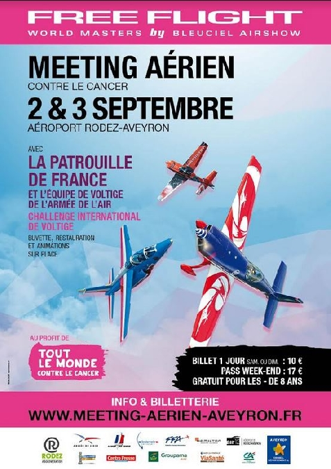 Rodez , Aéroport de Rodez-Aveyron, Free Flight World Masters 2017, Meeting Aerien 2017, Airshow 2017, French Airshow 2017