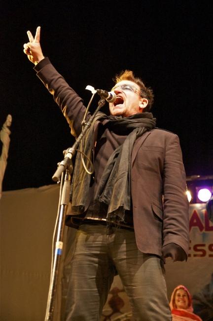 Bono impliqué à nouveau dans le Festival du désert