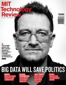 Nouvelle couverture pour Bono