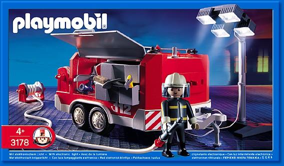 Pompierpolicehopitaltravaux - Caserne de police playmobil ...