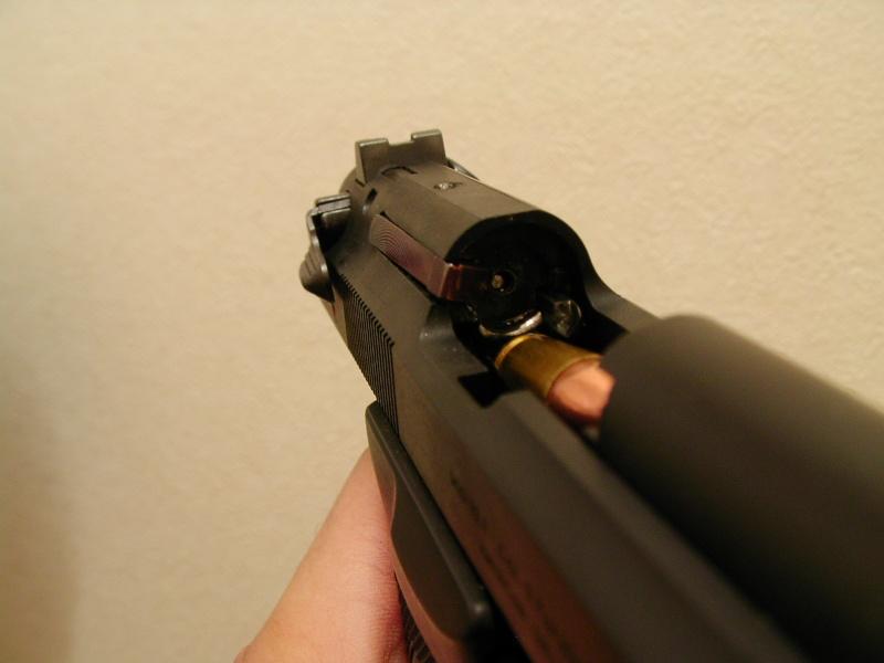 A C G P Beretta M92fs