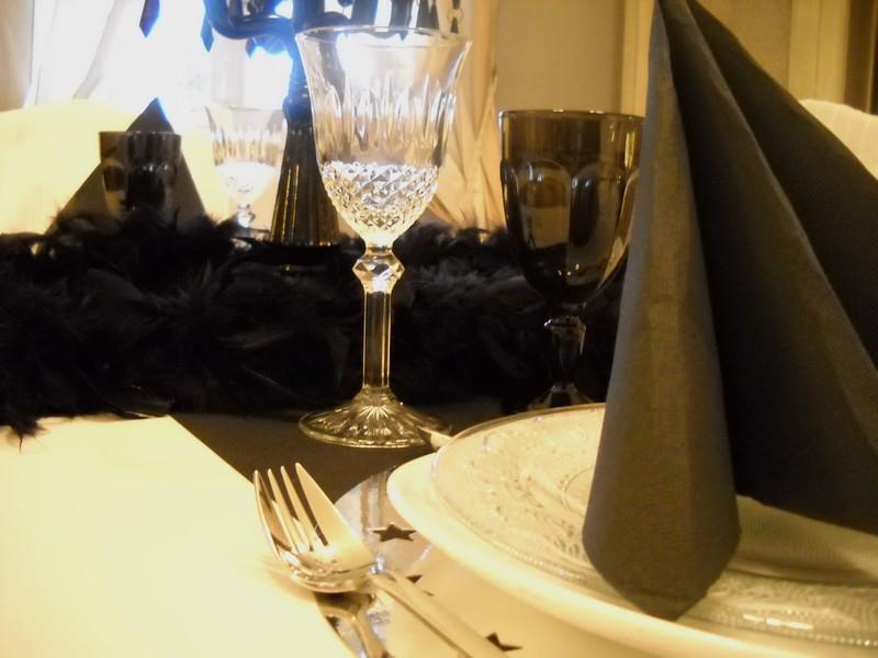 D co table r veillon nouvel an - Deco table reveillon nouvel an ...