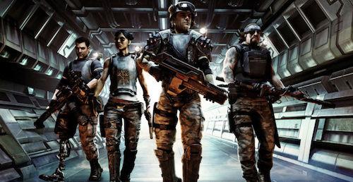 Alpha Squadron-Les Personnages