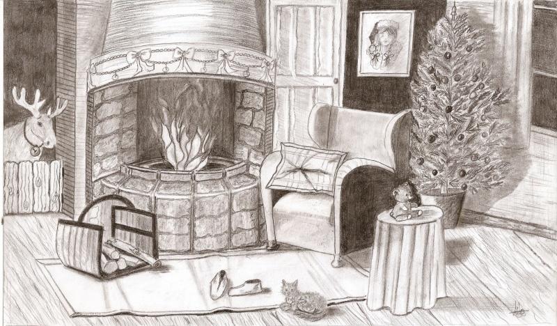 Interieur maison dessin for Dessiner ma maison en ligne