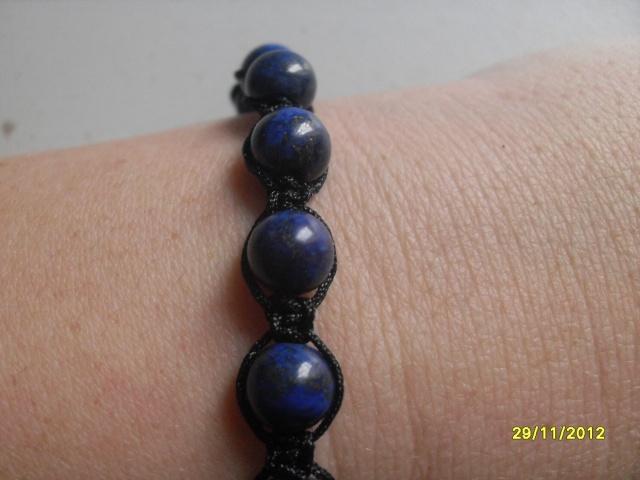 bracelet shambala tendance homme lapis lazuli