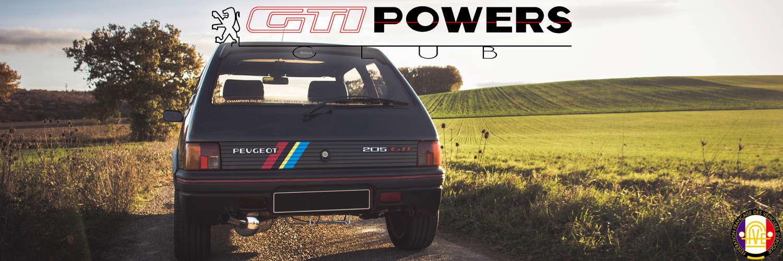 Club GTIPOWERS - Vivez la 205 et 309 GTI en communauté !