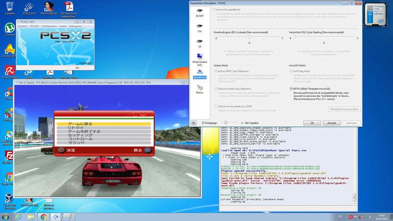 OutRun 2 SP (SLPM66628) run slowly