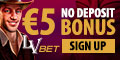LVBet Casino And Mobile $/€5 no deposit bonus