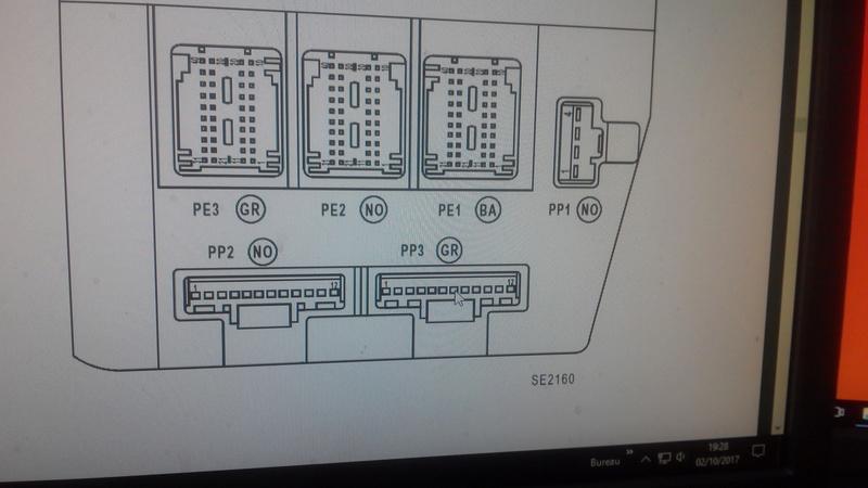 Reparation Uch Siemens 8200351182 Probleme Ouverture Coffre