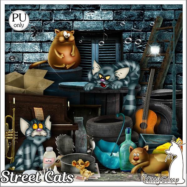 Streer cat de Kittyscrap dans Juillet kittys17