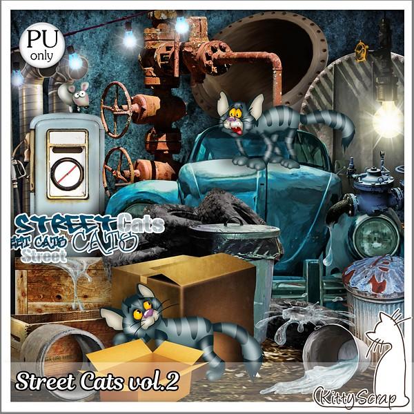 Street cats de Kittyscrap dans Août kittys35