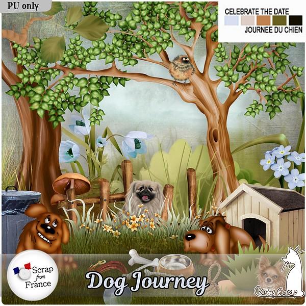 Dog journey de KittyScrap dans Août kittys43