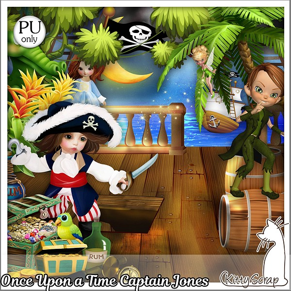 Once upon a time captain Jones de Kittyscrap dans Septembre kittys50