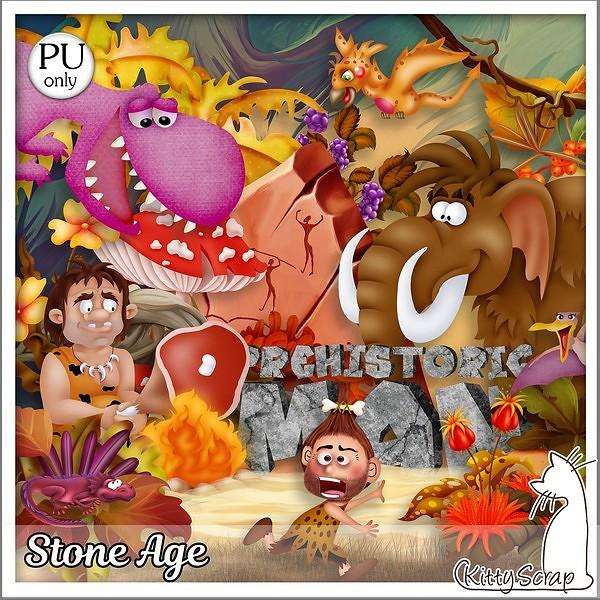 Stone age de Kittyscrap dans Septembre kittys52