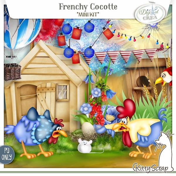 Frenchy cocotte de Kittyscrap dans Juillet peview10