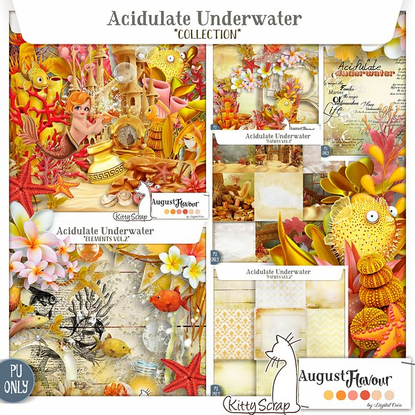 Acidulate Underwater de KittyScrap dans Août previe50