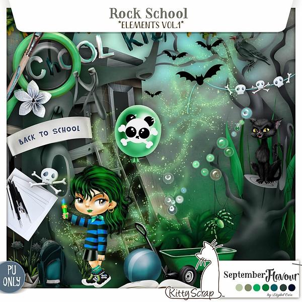 Rock scool de Kittyscrap dans Septembre previe56