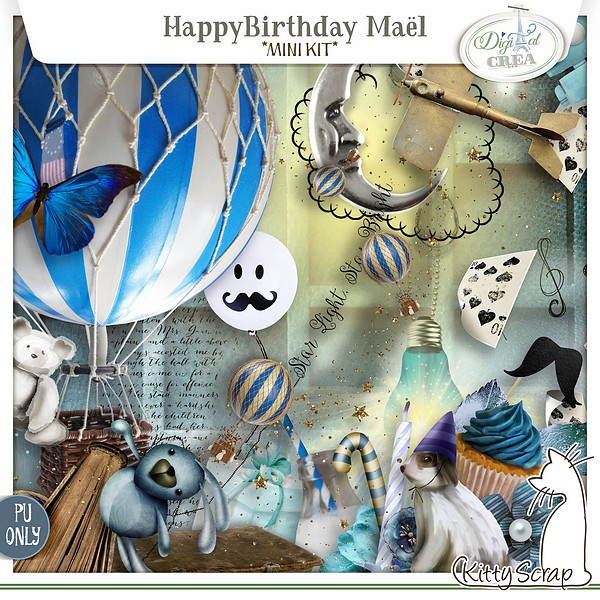 Happy birthday Mael de Kittyscrap dans Septembre previe62