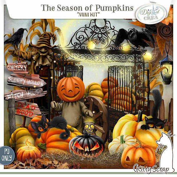 The season of Pumpkins de Kittyscrap prview10