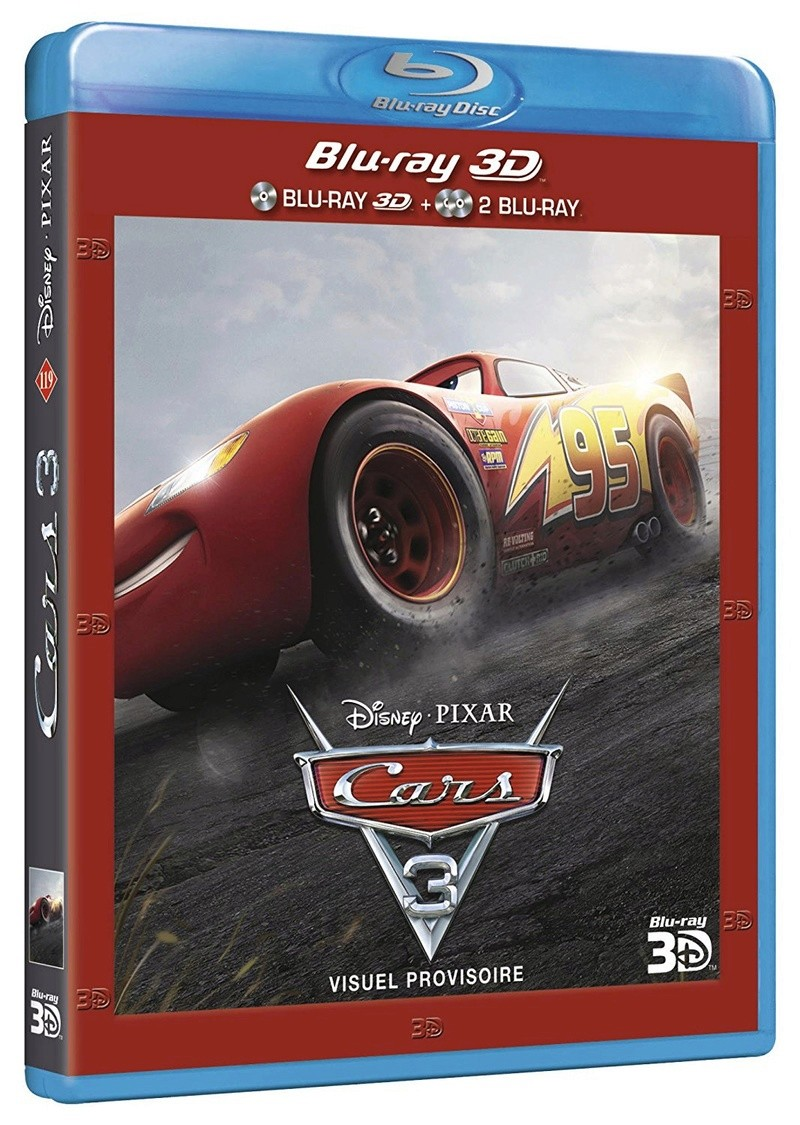 dvd bd bd3d steelbook cars 3 sortie d cembre 2017. Black Bedroom Furniture Sets. Home Design Ideas