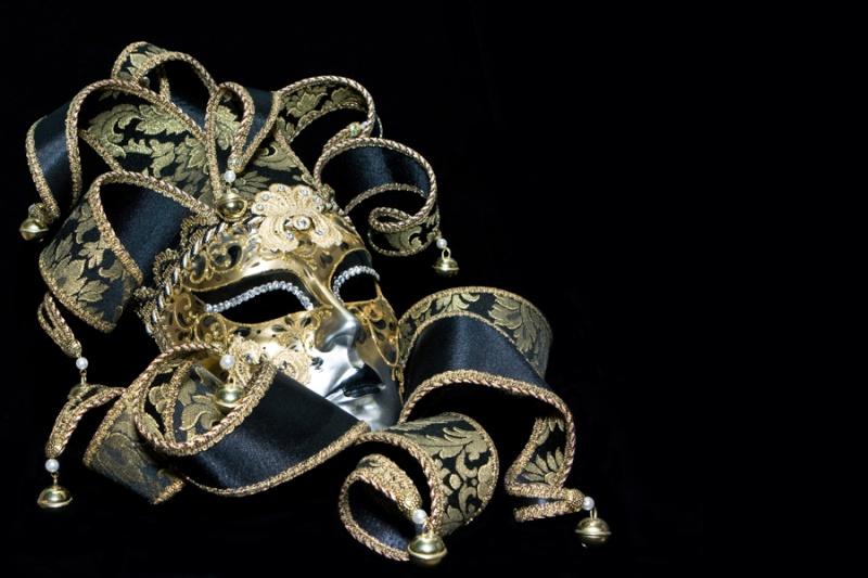 masquerade mask black background wallpaper - photo #2