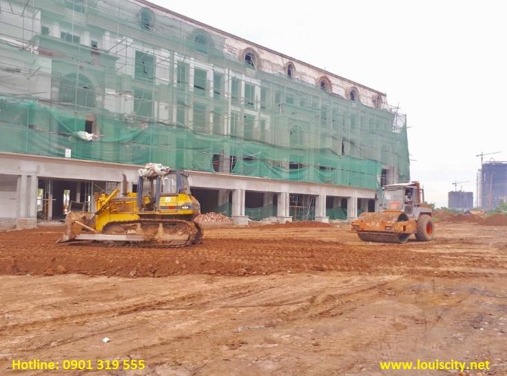 tiến độ xây dựng dự án Louis city ngày 15/8/2017 - 6