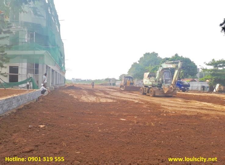 tiến độ xây dựng dự án Louis city ngày 15/8/2017 - 8