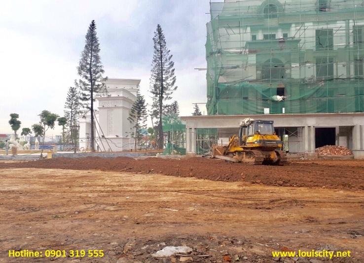tiến độ xây dựng dự án Louis city ngày 15/8/2017 - 5