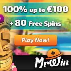 30 free spins Mr Win Casino
